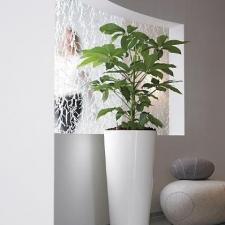 Gloss White Urn